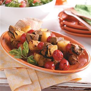 Spicy Lamb Kabobs Recipe