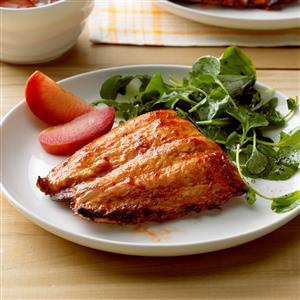 Spicy Plum Salmon Recipe