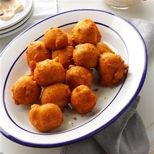 Spicy Pumpkin Fritters Recipe