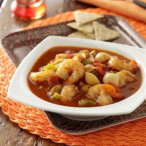 Spicy Seafood Bisque Recipe