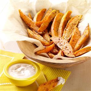 Spicy Sweet Potato Fries Recipe