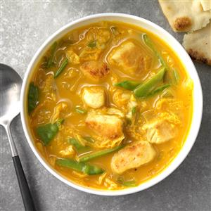 Spicy Thai Coconut Chicken Soup Recipe