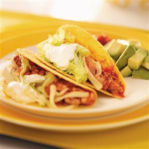 Spicy Turkey Tacos Recipe