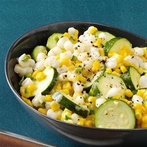 Spicy Zucchini Corn Medley Recipe