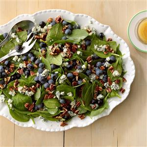 Spinach Blueberry Salad Recipe