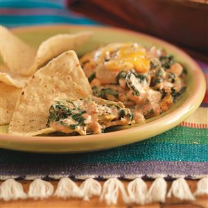 Spinach Cheese Dip Recipe