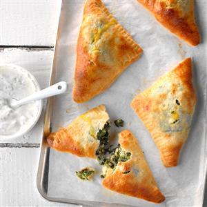 Spinach Feta Turnovers Recipe