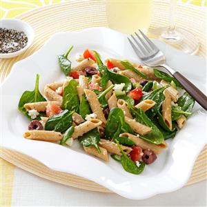Spinach Penne Salad Recipe