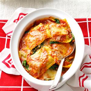 Spinach Ravioli Bake Recipe