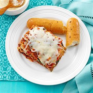Spinach and Sausage Lasagna Recipe