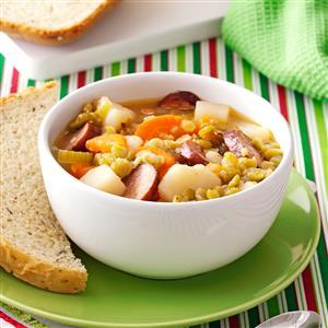 Split Pea and Sausage Soup Recipe