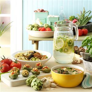 Spring Essence Soup with Pistou Recipe