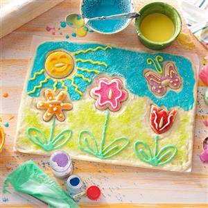 Spring Garden Cookie Puzzle Recipe