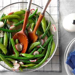 Spring Pea & Radish Salad Recipe