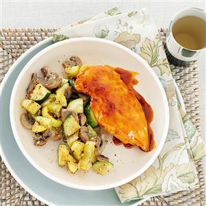 Squash and Mushroom Medley Recipe