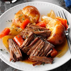 Stout & Honey Beef Roast Recipe