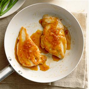 Stovetop Orange-Glazed Chicken Recipe