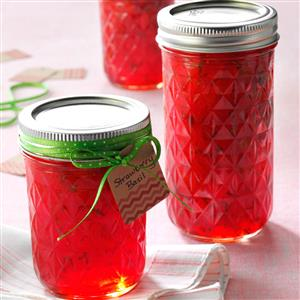 Strawberry Basil Jam Recipe