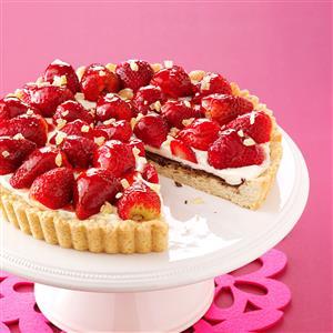 Strawberry Ginger Tart Recipe