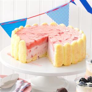 Strawberry Ice Cream Charlotte Recipe