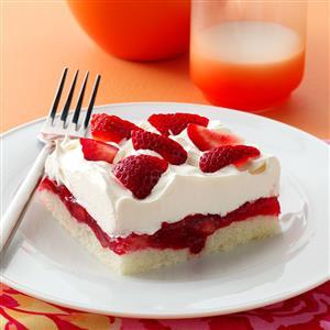Strawberry Ladyfinger Dessert Recipe