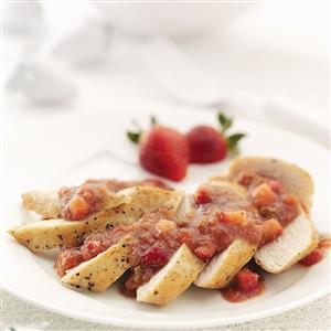 Strawberry Relish Recipe