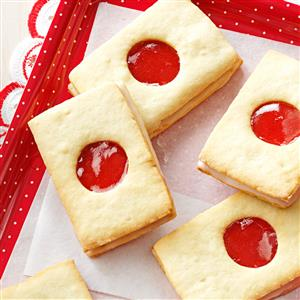Strawberry Sandwich Cookies Recipe