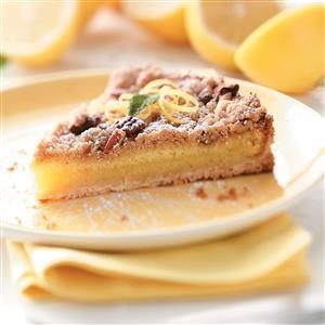 Streusel-Topped Lemon Tart