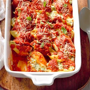 Stuffed Vegetarian Shells Recipe