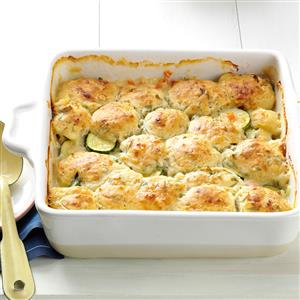 Summer Vegetable Cobbler Recipe