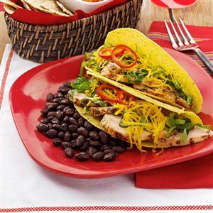 Summertime Chicken Tacos Recipe