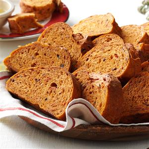 Sun-Dried Tomato & Olive Loaf Recipe