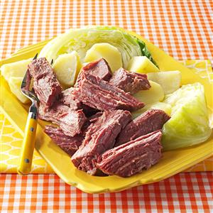 Sunday's Corned Beef Recipe