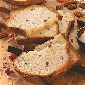 Sunflower Cranberry Bread Recipe