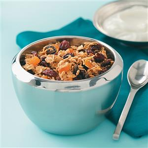 Super Low-Fat Granola Cereal Recipe