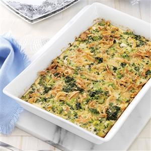 Supreme Green Vegetable Bake Recipe