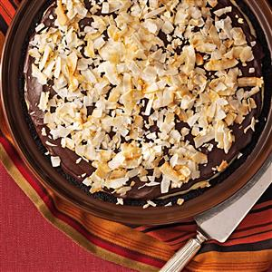 Susie's Dark Chocolate-Coconut Pie Recipe