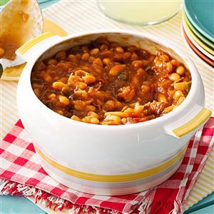 Sweet & Hot Baked Beans Recipe