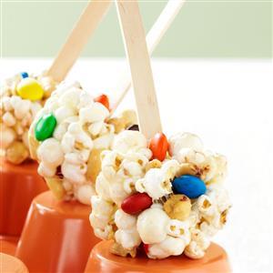Sweet & Salty Marshmallow  Popcorn Treats Recipe