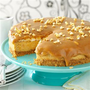 Sweet & Salty Peanut Butter Cheesecake Recipe