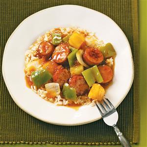 Sweet & Sour Sausage Recipe