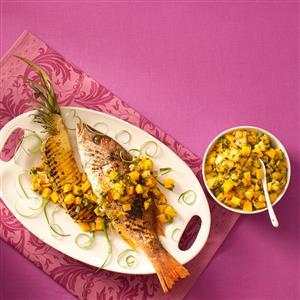 Sweet & Spicy Pineapple Salsa Recipe