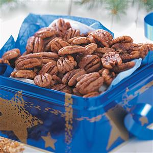 Sweet 'n' Spicy Pecans Recipe