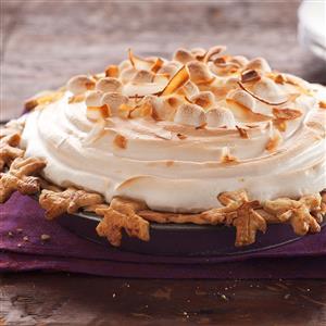 Sweet Potato Coconut Pie with Marshmallow Meringue Recipe