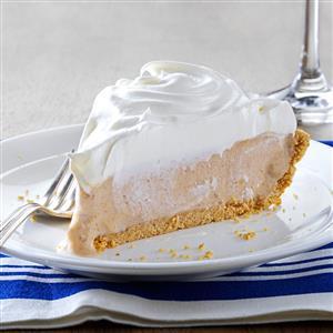 Sweet Potato Ice Cream Pie Recipe