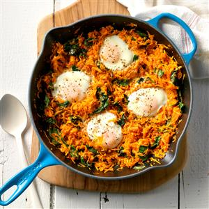 Sweet Potato and Egg Skillet  Recipe
