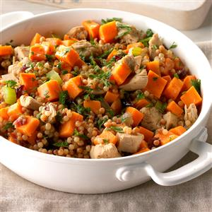 Sweet Potato and Turkey Couscous Recipe