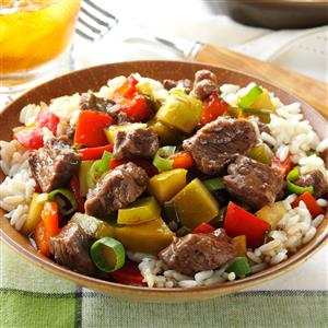 Sweet and sour beef recipe taste of home sweet and sour beef recipe forumfinder Image collections