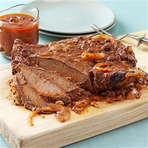 Pressure Cooker Sweet and Sour Brisket Recipe