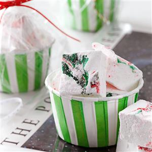 Swirled Peppermint Marshmallows Recipe